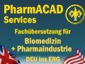 Pharmacad Services - Fachübesretzung für Biomedizin und die Pharmaindustrie