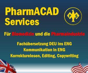 Pharmacad Services - Fachübersetzung für Biomedizin und die Pharmaindustrie